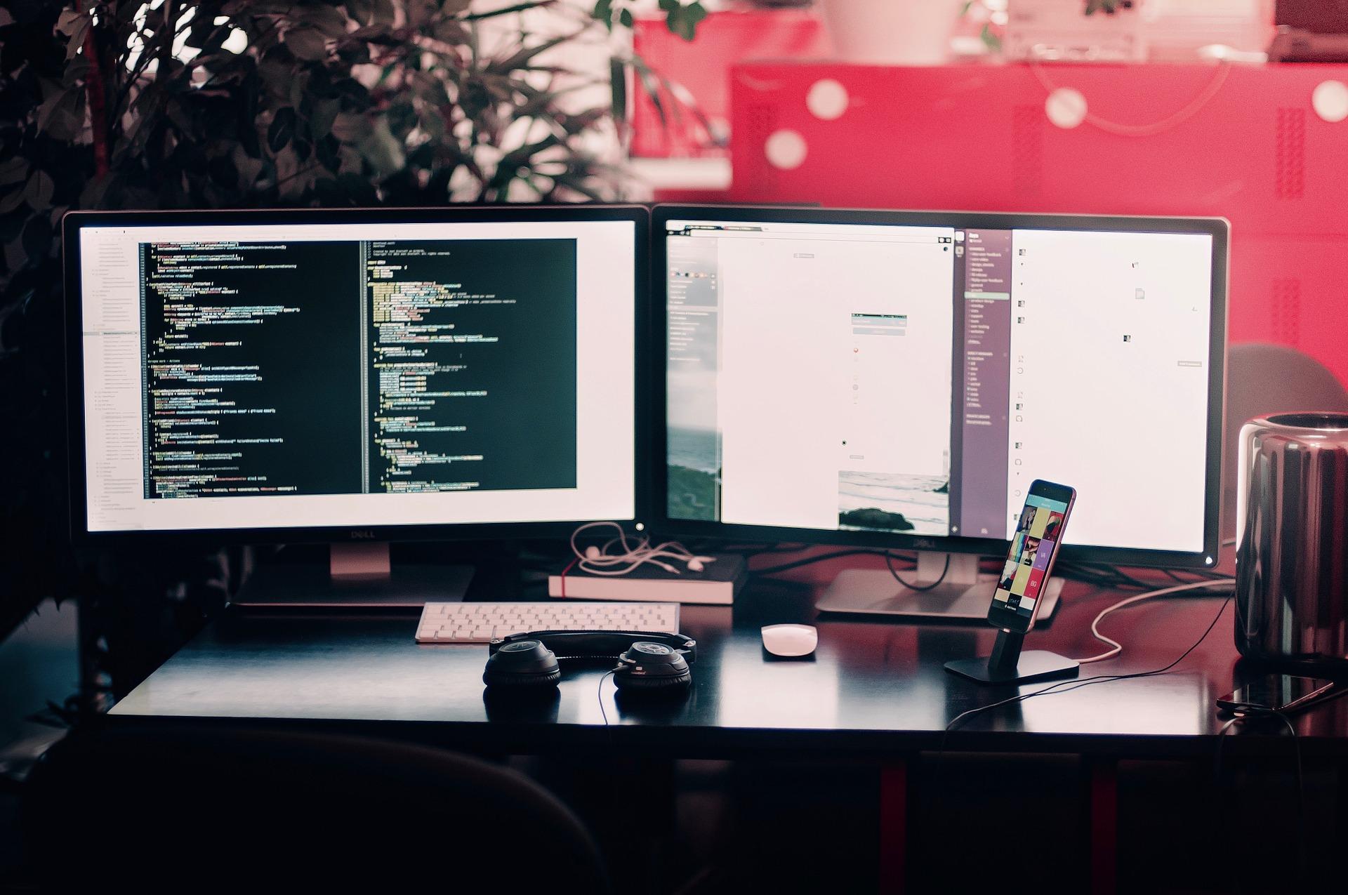 Beeldschermen computer